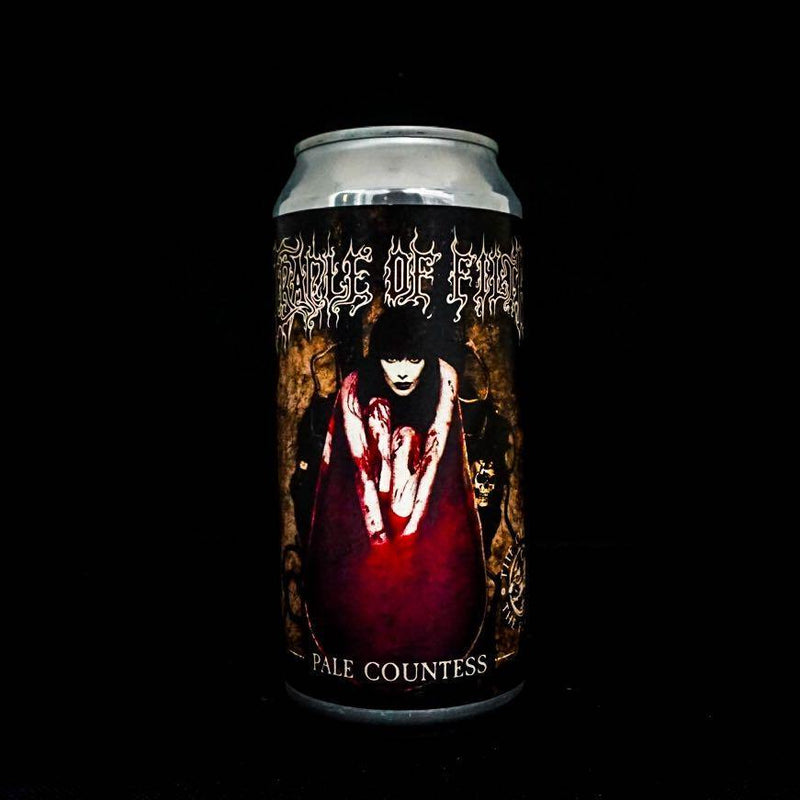 Cradle of Filth Pale Countess Beer 4.5% 8 x 440ml Cans