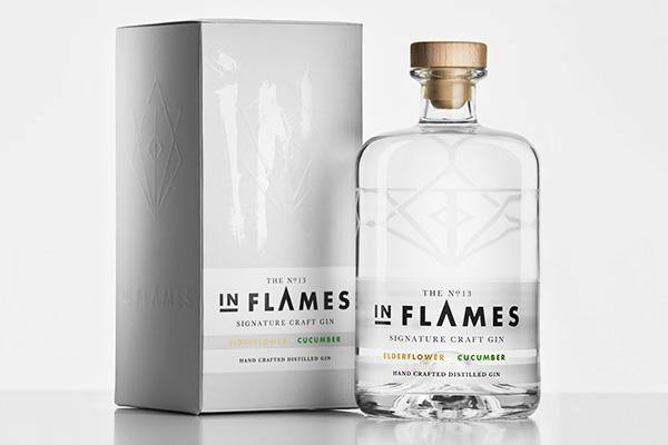 In Flames Pink Elderflower & Cucumber