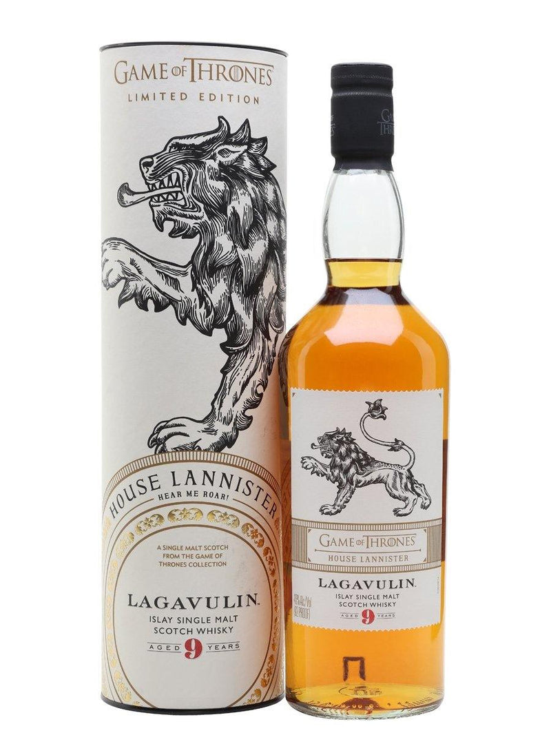 Game of Thrones House Lannister – Lagavulin 9 Year Old 700cl 46%