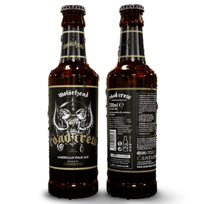 MOTÖRHEAD RÖAD CREW BEER 8 x 330ml Bottles