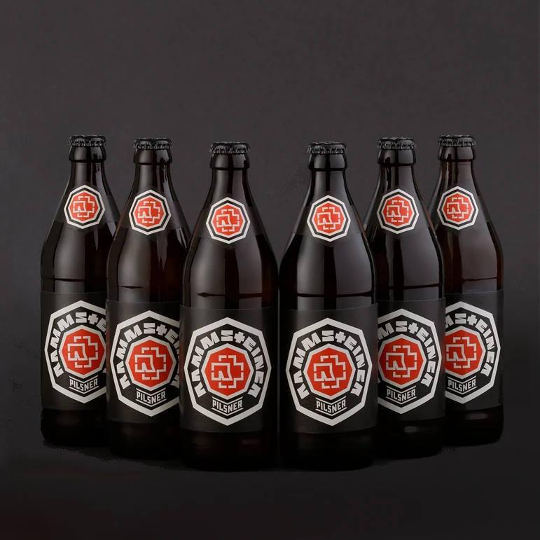RAMMSTEINER Pilsner 500ml 4.9% - 6 Bottles