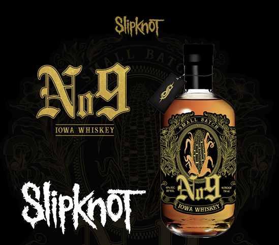 Slipknot No 9 Whisky 700cl 45%
