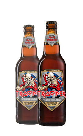 Iron Maiden's Trooper Beer 4.7% ABV (8 x 500ml)