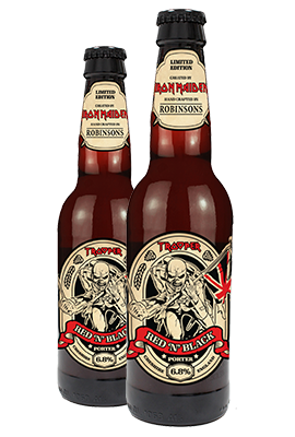 Iron Maiden's Trooper Beer Red N Black 6.8% (8 x 330ml)