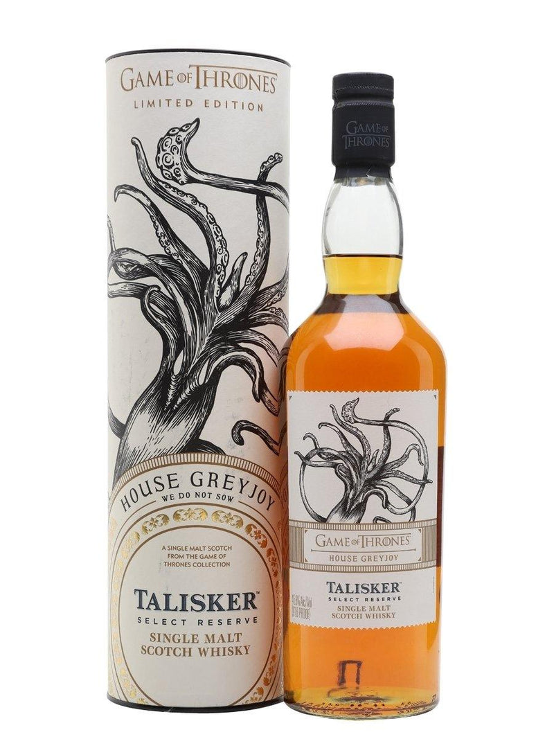 Game of Thrones House Greyjoy – Talisker Select Reserve 700cl ABV 45.8%