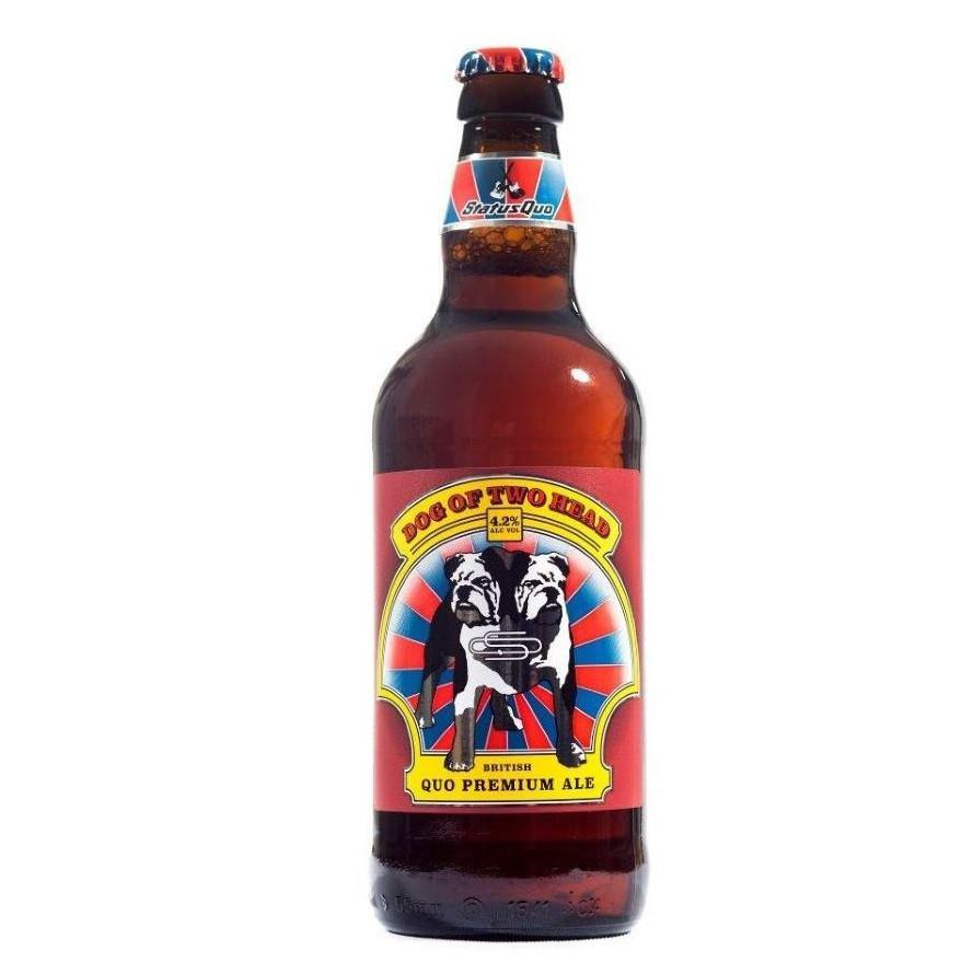 SHORT BBD Status Quo Dog of Two Head Ale 12 x 500ml Bottles 4.2%