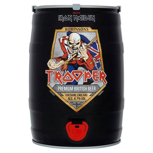 Iron Maiden's Trooper Beer (Mini Keg) 5L