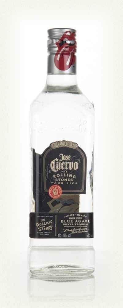 Jose Cuervo Silver Rolling Stones Edition 700ml 38%