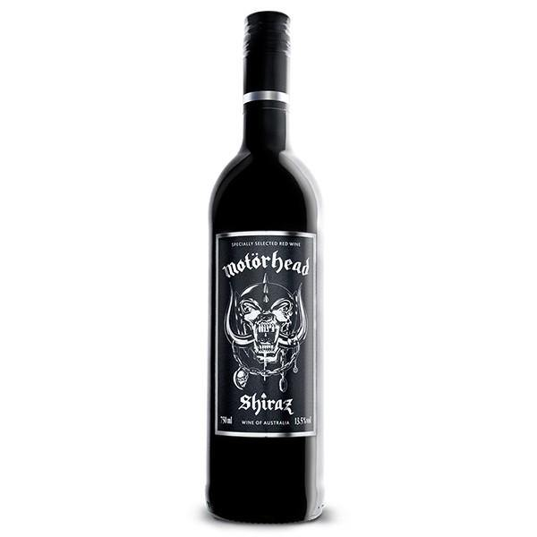 Motörhead Shiraz 750ml Single Bottle