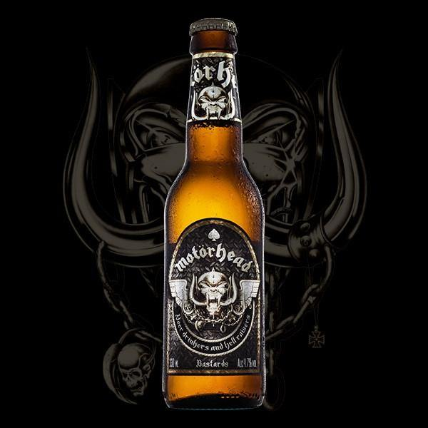 Motörhead Bastards Lager 8 x 330ml Bottle