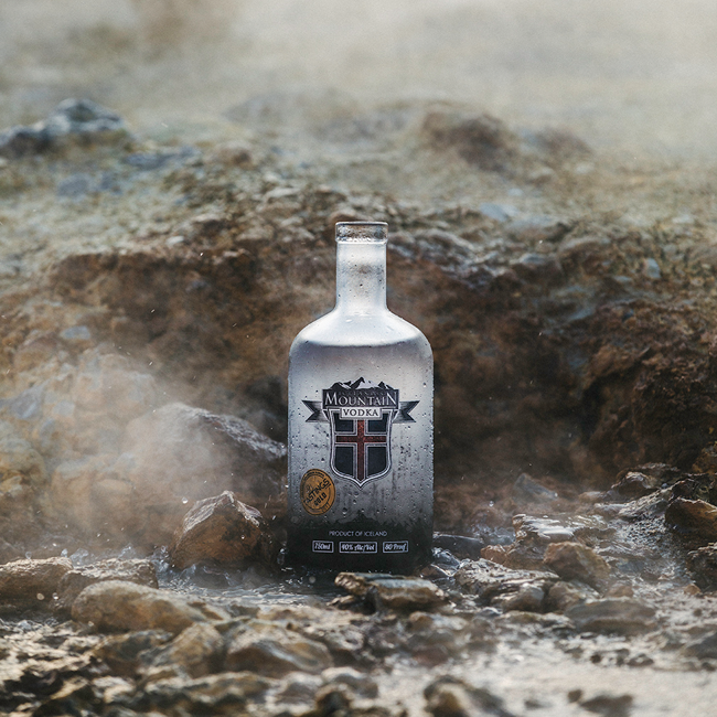 Icelandic Mountain 40% Vodka, 70cl