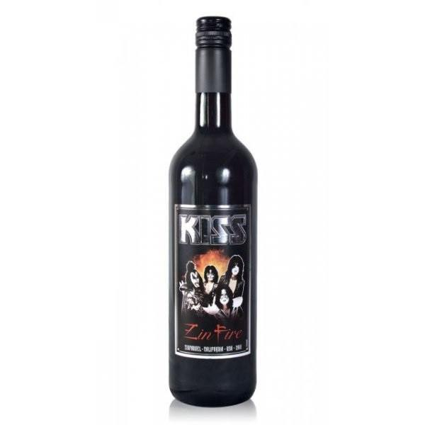 Kiss Zin Fire Zinfandel Wine