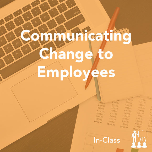Communicating Change to Employees