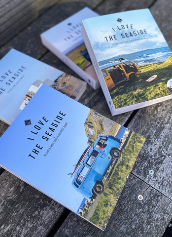 "Surf & Travel Guide ""I Love the Seaside"" - Great Britain & Ireland"