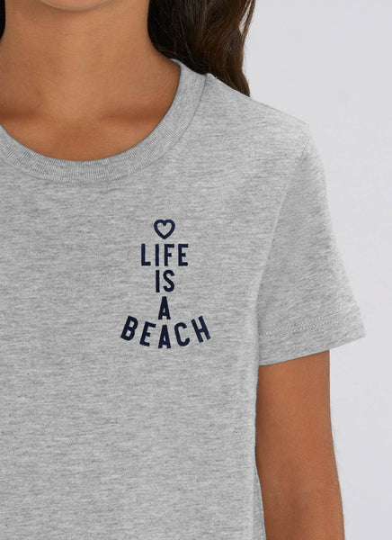 "Tee ""Life is a Beach"" - Kids - Hjemhavn T-shirt"