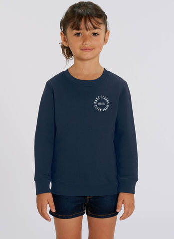 "Sweat ""Make Oceans Clean Again"" No.2 - Kids - Hjemhavn Sweatshirt"