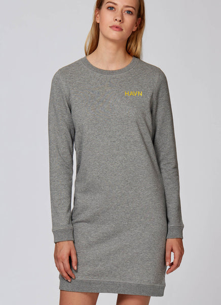 "Sweatdress ""Havn"" No.2 - Women - Hjemhavn Sweatshirt"