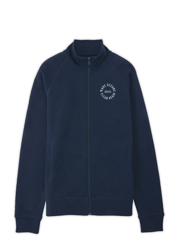 "Sweatjakke ""Make Oceans Clean Again"" No.2 - Men - Hjemhavn Sweatshirt"