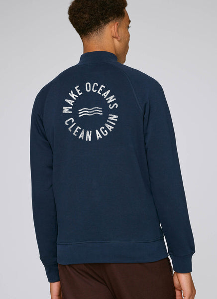 "Sweatjakke ""Make Oceans Clean Again"" - Men - Hjemhavn Sweatshirt"