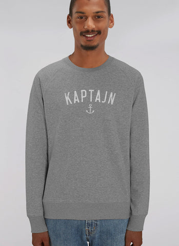 "Sweat ""Kaptajn"" - Men - Hjemhavn Sweatshirt"