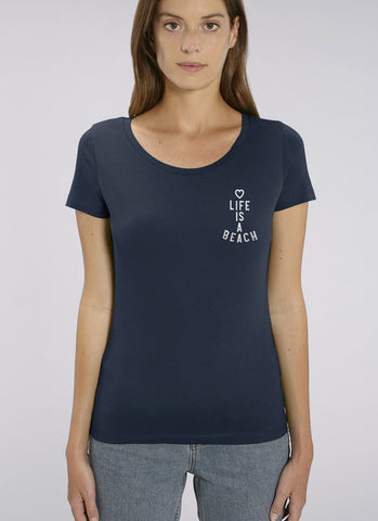 "Tee ""Life is a Beach"" No.2 - Women"