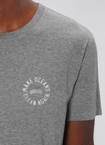 "Tee ""Make Oceans Clean Again"" No.2 - Men (Unisex)"