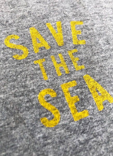 "Tee ""Save the Sea"" No.2 - Men (Unisex) - Hjemhavn T-shirt"