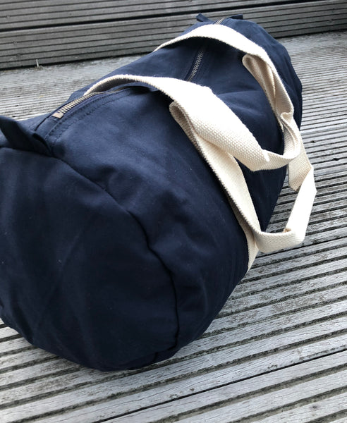 "Sports Bag ""Make Oceans Clean Again"" - Hjemhavn Sports Bag"