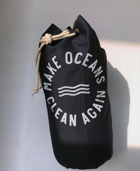 "Sea Bag No.2 ""Make Oceans Clean Again"" - Hjemhavn Sea Bag"