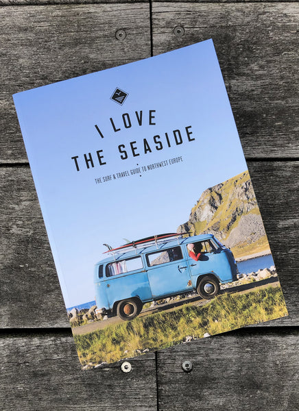 "Surf & Travel Guide ""I Love the Seaside"" - Northwest Europe - Hjemhavn Rejseguide"