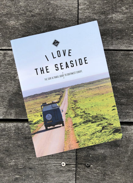 "Surf & Travel Guide ""I Love the Seaside"" - Southwest Europe - Hjemhavn Rejseguide"
