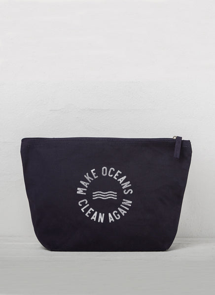 "Accessory Bag ""Make Oceans Clean Again"" - Hjemhavn Accessory Bag"