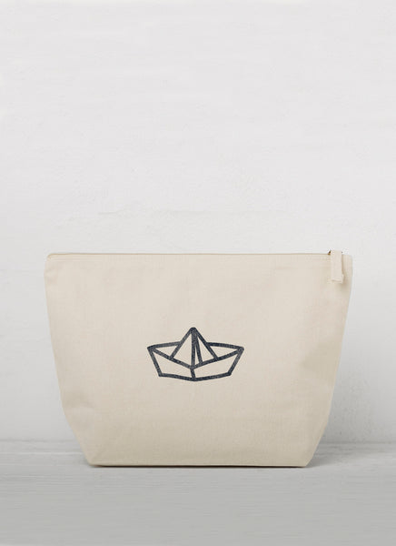 "Accessory Bag ""Paperboat"" - Hjemhavn Accessory Bag"