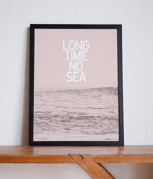 Long Time No Sea No.2 - Hjemhavn Plakat