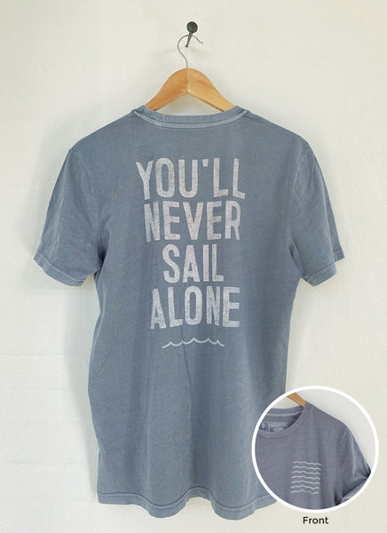 "Tee ""You'll Never Surf Alone"" - Unisex - Hjemhavn T-shirt"