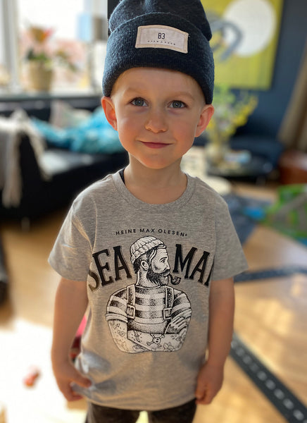 "Tee ""Sea Man"" - Kids - Hjemhavn T-shirt"