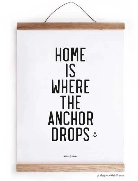 Home is Where the Anchor Drops - Hjemhavn Citater