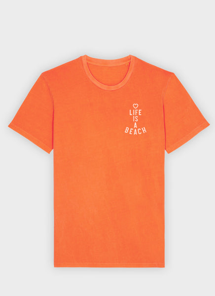 "Tee ""Life is a Beach"" - Unisex - Hjemhavn T-shirt"
