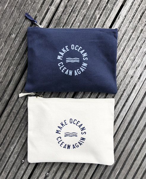 "Clutch ""Make Oceans Clean Again"" - Hjemhavn Clutch"