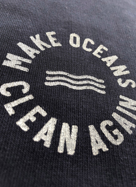 "Sweatjakke ""Make Oceans Clean Again"" No.2 - Men"