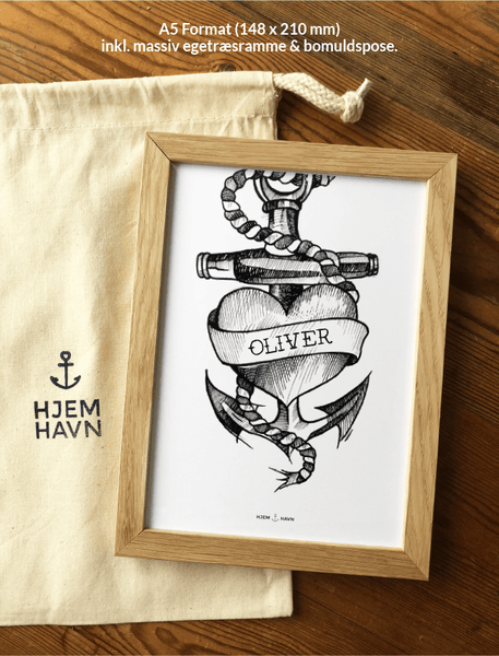 Design din egen tattoo-plakat - Hjemhavn Custom made