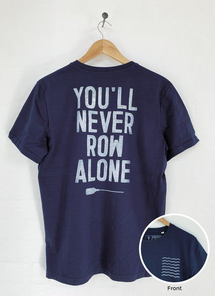 "Tee ""You'll Never Row Alone"" - Unisex - Hjemhavn T-shirt"