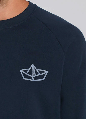 "Sweat ""Paperboat"" - Men - Hjemhavn Sweatshirt"