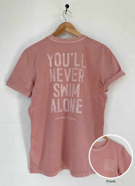 "Tee ""You'll Never Paddle Alone"" - Unisex - Hjemhavn T-shirt"
