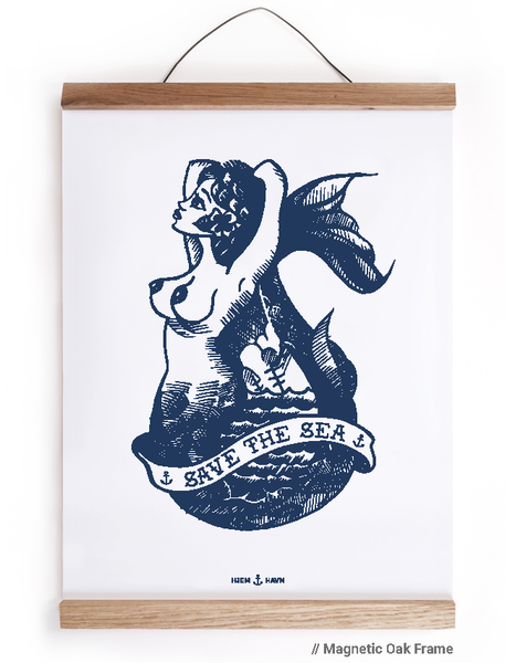 Save the Sea (Plakat) - Hjemhavn Plakat