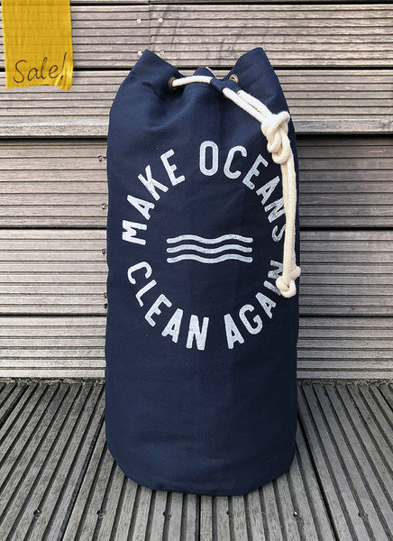"Sea Bag No.2 ""Make Oceans Clean Again"""