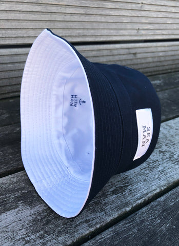 "Bucket Hat ""Sea Man"" - Hjemhavn Cap"