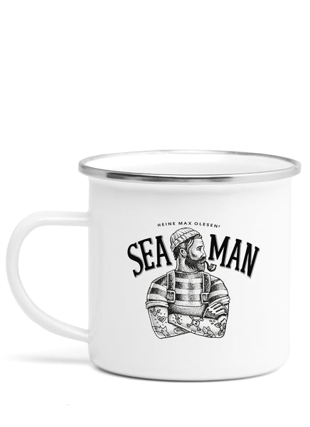 "Emaljekrus ""Sea Man"""