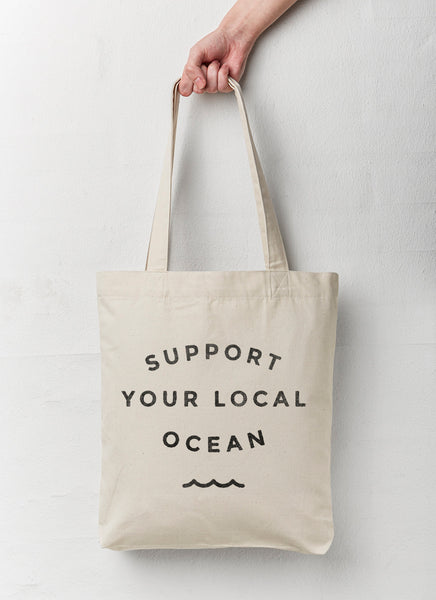 "Shopping Bag ""Support"" - Recycled"