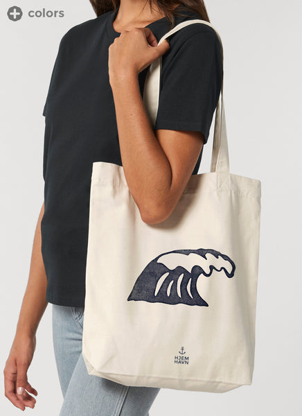 "Shopping Bag ""Wave"" - Recycled"